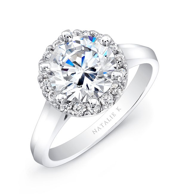 nk24154 w three qrtr 3 - Engagement Rings