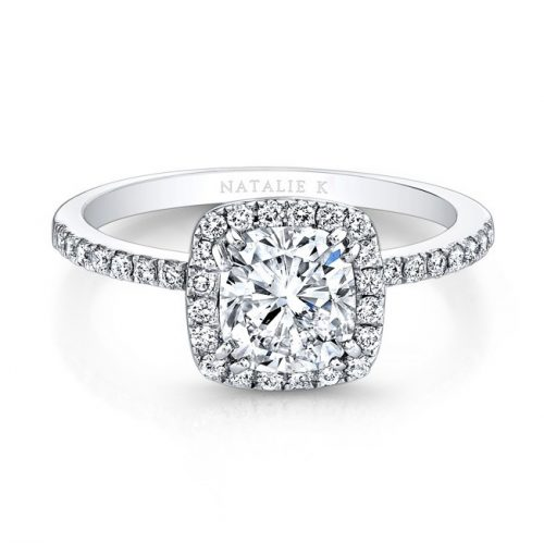 fm26921 18w front 1 1 500x499 - 18K WHITE GOLD SQUARE HALO ENGAGEMENT RING FM26921-18W