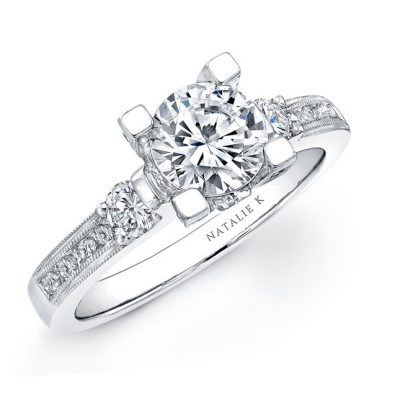 file 3 2 4 400x400 - 14K WHITE GOLD THREE STONE DIAMOND ENGAGEMENT SEMI MOUNT RING NK15157ENG-W