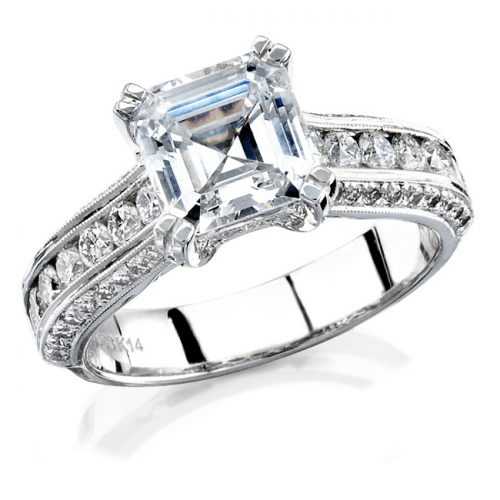 nk12056 3 500x500 - 14K WHITE GOLD PAVE CHANNEL FINISHED DIAMOND RING NK12056WED-W