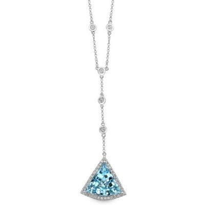 nk16390btpz w rt 3 400x400 - 14K WHITE GOLD BLUE TOPAZ DIAMOND TRIANGLE NECKLACE NK19983BTPZ-W