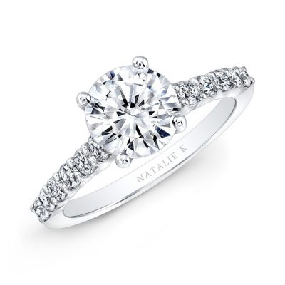 nk29368 18w three qrtr 3 400x400 - 18K WHITE GOLD ELONGATED SHANK DIAMOND ENGAGEMENT RING NK29368-18W