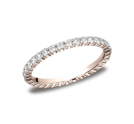 552623RG P1 - DIAMONDS ROSE GOLD 2MM DIAMOND BAND