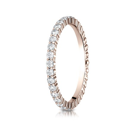 552623RG P2 - DIAMONDS ROSE GOLD 2MM DIAMOND BAND