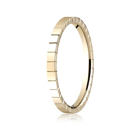 62901YG P2 1 - DESIGNS YELLOW GOLD 2MM BAND