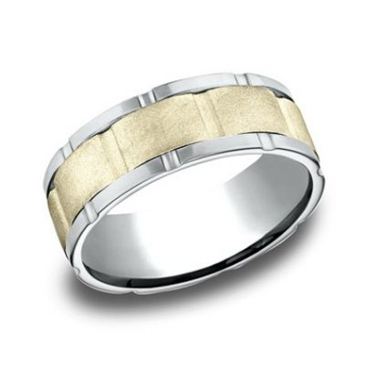 CF208546 P1 400x400 - DESIGNS WHITE GOLD 8MM BAND