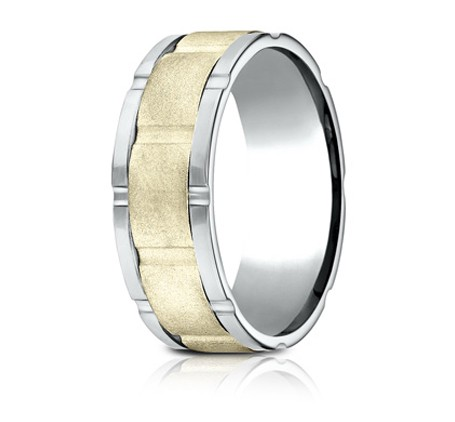 CF208546 P2 - DESIGNS WHITE GOLD 8MM BAND