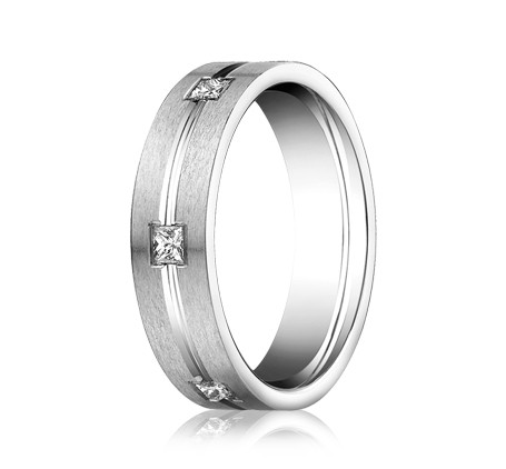 CF526828WG P2 1 - DIAMONDS WHITE GOLD 6MM DIAMOND BAND
