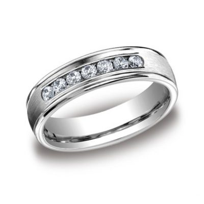 RECF516516WG P1 Copy 400x400 - DIAMONDS WHITE GOLD 6MM DIAMOND BAND
