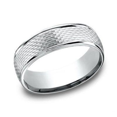 RECF87547WG P1 1 400x400 - DESIGNS WHITE GOLD 7.5MM BAND RECF87547WG