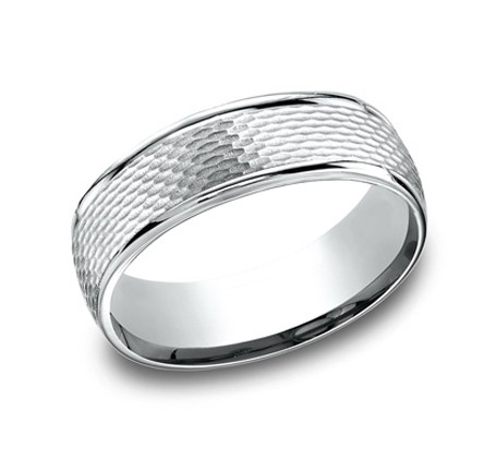 RECF87547WG P1 1 - DESIGNS WHITE GOLD 7.5MM BAND RECF87547WG