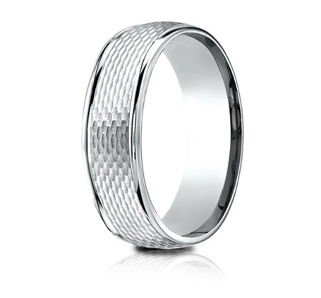 RECF87547WG P2 1 - DESIGNS WHITE GOLD 7.5MM BAND RECF87547WG