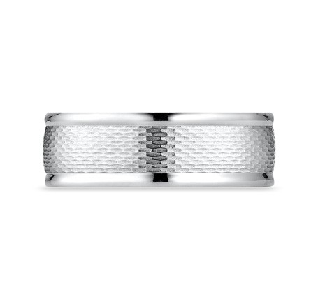 RECF87547WG P3 1 - DESIGNS WHITE GOLD 7.5MM BAND RECF87547WG