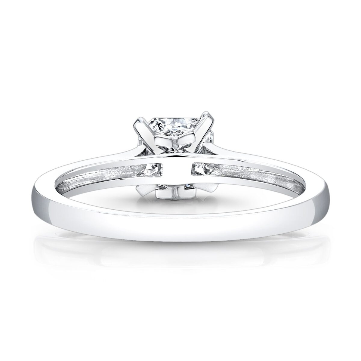ring rings accent white gold diamond engagement