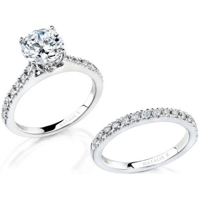 nk12113we w 1 3 400x400 - 14K WHITE GOLD PAVE PRONG ROUND DIAMOND BRIDAL SET NK12113WE-W