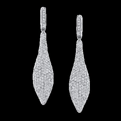 nk17995 w 3 400x400 - 18K WHITE GOLD PAVE ROUND DIAMOND EARRINGS