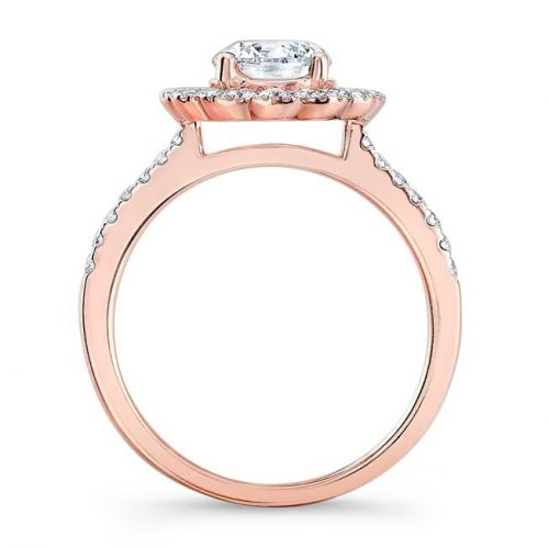 nk29672 18r profile 12 500x499 - 18K ROSE GOLD DOUBLE HALO DIAMOND ENGAGEMENT RING