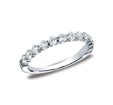 p 1 - DIAMONDS WHITE GOLD 3MM DIAMOND BAND