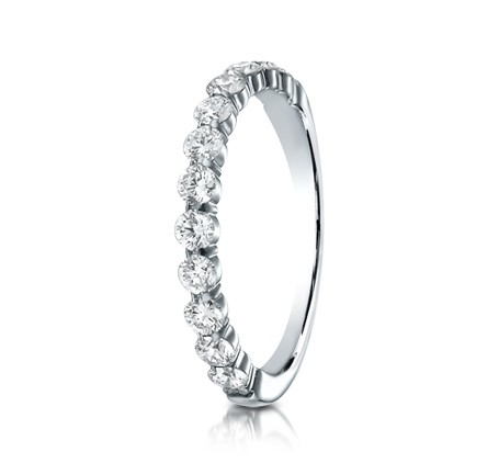 p1 1 - DIAMONDS WHITE GOLD 3MM DIAMOND BAND