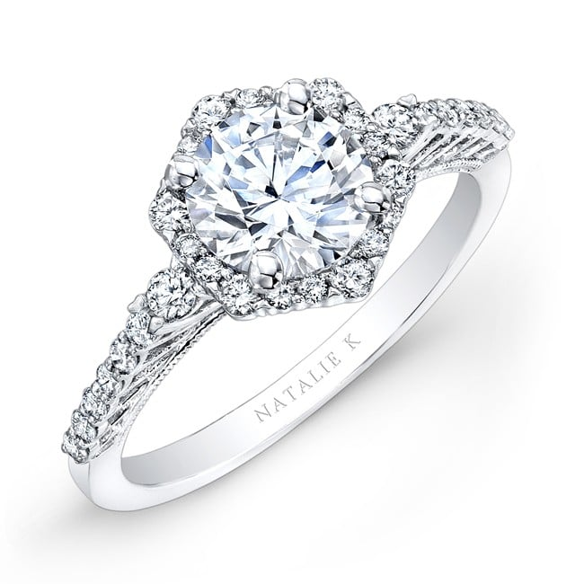 Average Diamond Specifications Engagement Ring Weight