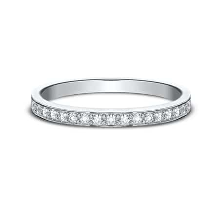 522800HFPT P3 - PLATINUM 2MM PAVE SET DIAMOND BAND 522800HFPT