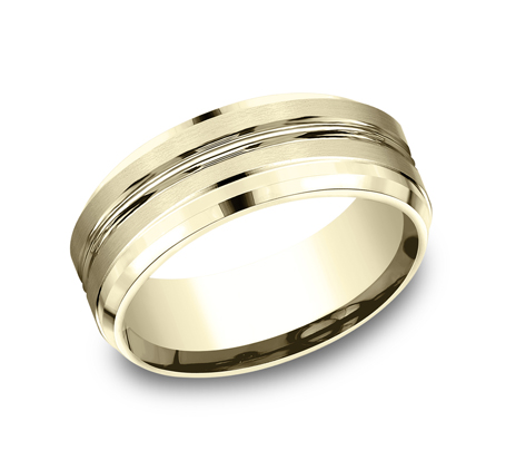 CF68484Y P1 - 8MM YELLOW GOLD BAND CF68484Y