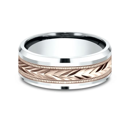 CF228003 P3 - 8MM MULTI GOLD  DESIGN BAND CF228003