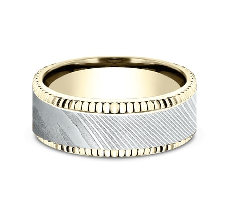CF338527DSY P3 1 - YELLOW GOLD 8MM  DESIGN BAND CF338527DSY