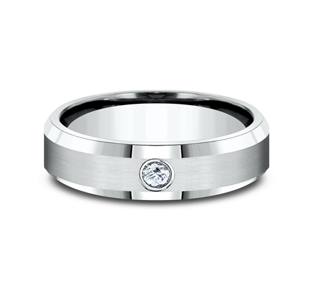 CF526127PT P3 - 8MM  PLATINUM DIAMOND BAND CF526127PT