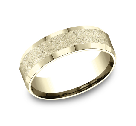 CF67417Y P1 - 7MM YELLOW GOLD  BAND CF67417Y