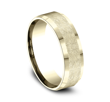CF67417Y P2 - 7MM YELLOW GOLD  BAND CF67417Y