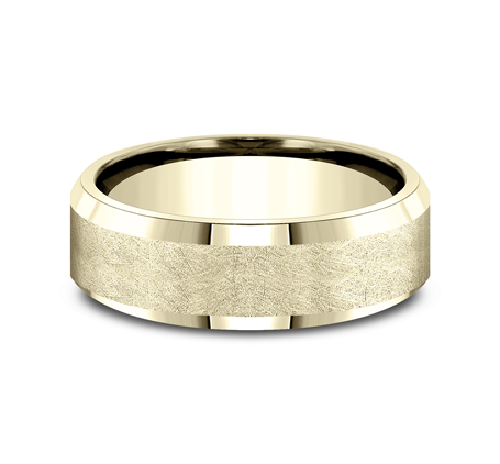 CF67417Y P3 - 7MM YELLOW GOLD  BAND CF67417Y