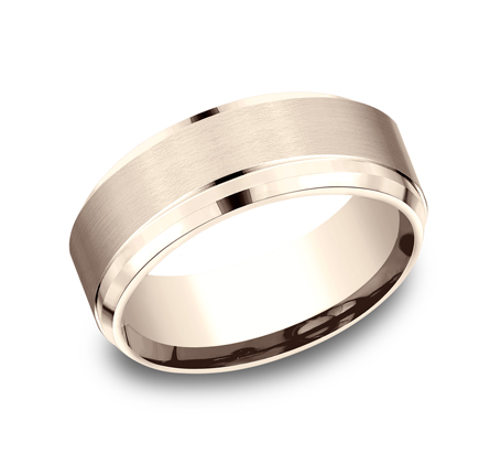 CF68486R P1 - 9MM  ROSE GOLD BAND CF68486R