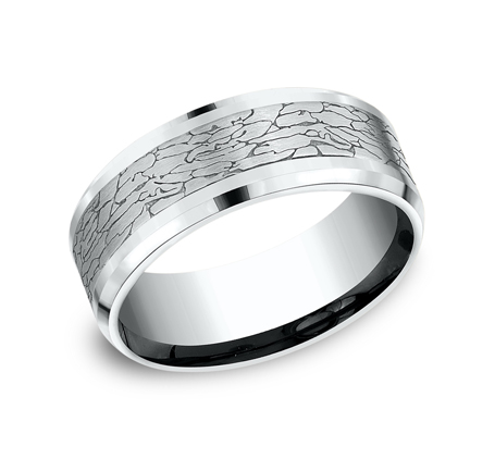 CF808374W P1 - WHITE GOLD DESIGN BAND CF808374W