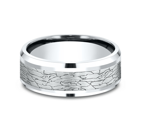 CF808374W P3 - WHITE GOLD DESIGN BAND CF808374W