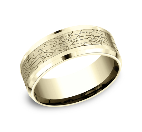 CF808374Y P1 - YELLOW GOLD DESIGN BAND CF808374Y
