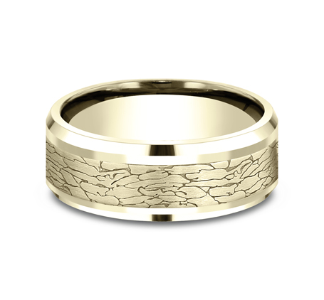 CF808374Y P3 - YELLOW GOLD DESIGN BAND CF808374Y