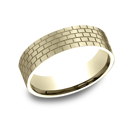 CF846331Y P1 - YELLOW GOLD DESIGN BAND CF846331Y