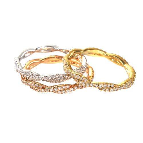 CR3234 500x500 - BOVA SIGNATURE  - 14K DIAMOND 0.29CT STACKABLE BANDS -  CR3234