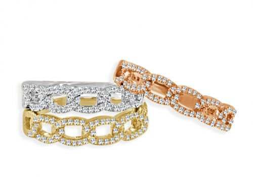 NRD62862 1 500x350 - BOVA SIGNATURE  - 14K DIAMOND 0.22CT STACKABLE BANDS - NRD6286
