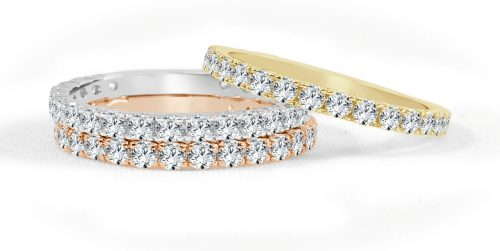 R575WPY 1 500x251 - BOVA SIGNATURE  - 14K DIAMOND 0.74CT STACKABLE BANDS - R575