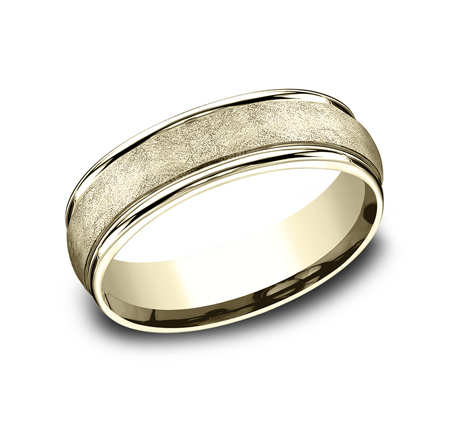RECF86585Y P1 - 6.5 MM  YELLOW GOLD BAND RECF86585Y