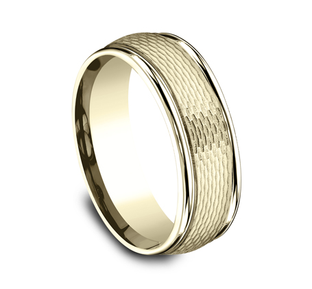 RECF87547Y P2 - 7.5 MM  YELLOW GOLD BAND RECF87547Y