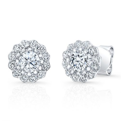 fm31802 18w 500x499 - 18K WHITE GOLD FOREVERMARK® DIAMOND EARRINGS FM31802-18W