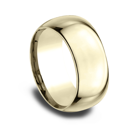 10MM YELLOW GOLD BAND HDCF1100Y 1 - 10MM YELLOW GOLD BAND HDCF1100Y