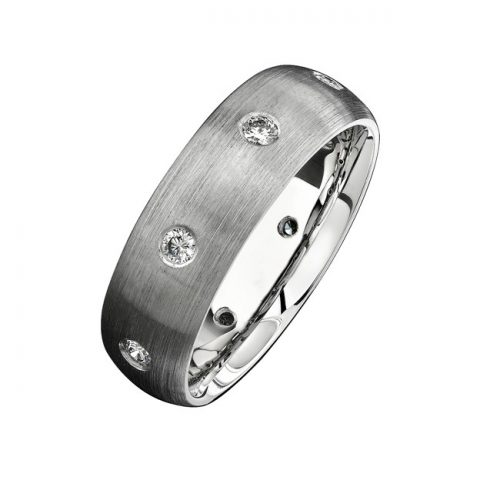 14K WHITE GOLD BEZEL FINISHED DIAMOND MENS BAND NK13848 W 500x500 - 14K WHITE GOLD BEZEL FINISHED DIAMOND MEN'S BAND NK13848-W