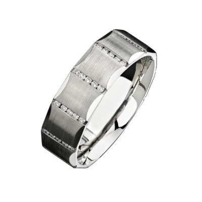 14K WHITE GOLD CHANNEL ROUND DIAMOND MENS BAND NK13851 W 400x400 - 14K WHITE GOLD CHANNEL ROUND DIAMOND MEN'S BAND NK13851-W