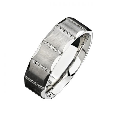 14K WHITE GOLD CHANNEL ROUND DIAMOND MENS BAND NK13851 W 500x500 - 14K WHITE GOLD CHANNEL ROUND DIAMOND MEN'S BAND NK13851-W