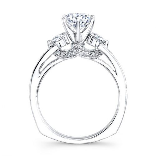 14K WHITE GOLD PAVE PRONG THREE STONE DIAMOND ENGAGEMENT RING NK25238ENG W 2 500x499 - 14K WHITE GOLD PAVE PRONG THREE STONE DIAMOND ENGAGEMENT RING NK25238ENG-W