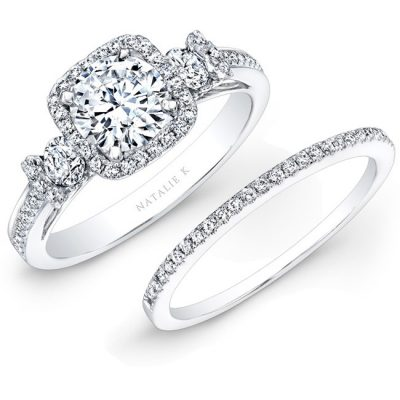 14K WHITE GOLD SQUARE HALO WHITE DIAMOND BRIDAL SET NK25537WE W 400x400 - 14K WHITE GOLD SQUARE HALO WHITE DIAMOND BRIDAL SET NK25537WE-W